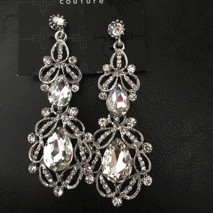 Romeo & Juliet Magnificent Statement Earrings Crys